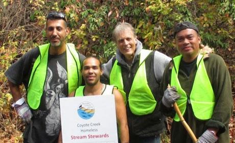 Coyote Creek Homeless Stream Stewards Trash Free Coyote Creek